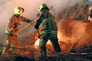 Firefighters face stress from both external and internal heat, trapped by their PPC.
